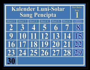 kalender alkitab kalender lunisolar
